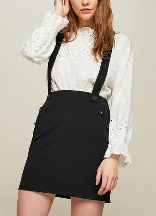 Распродажа! цены от 30 грнкомбинезон мини юбка на подтяжках miss selfridge