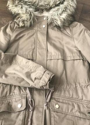 Парка,курточка на плюшевом утеплителе