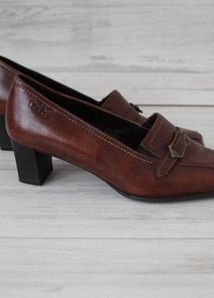 38-38.5 р. фирменные кожаные туфли от известного немецкого бренда caprice