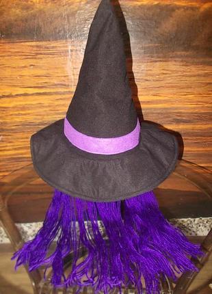 Шляпа-колпак маскарадная для волшебницы 54-56 размера