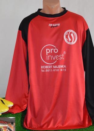 Футбольная спортивная футболка с длинным рукавом dragon sport германия pro invest 16