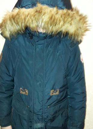 Зимняя куртка-парка glo story 8-9 лет