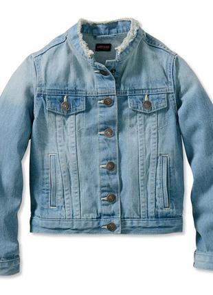 Стильная джинсовая куртка,пиджак,германия ( рост 146-152)