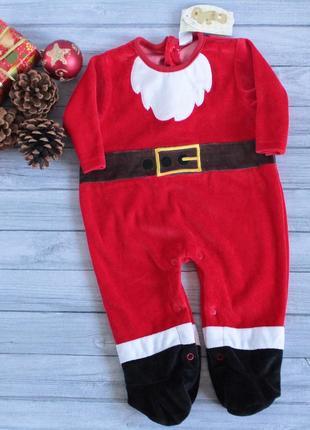 Новогодний человечек-костюм санты