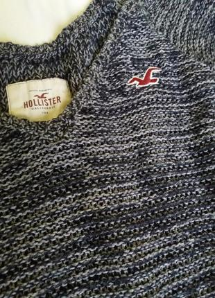 Вязаный джемпер свитер р.10