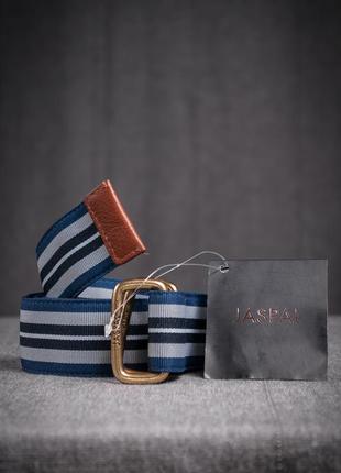 Текстильный ремень с двойной пряжкой jaspal, тайланд унисекс пояс