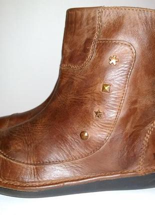 Полусапоги ботинки kickers eur 36 кожа