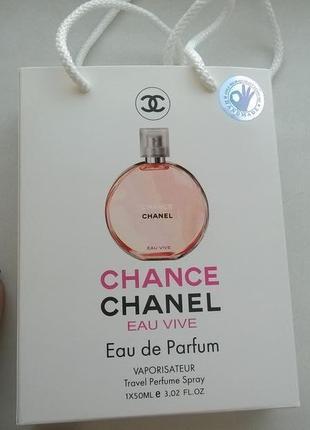 Женская парфюмированная вода в подарочной упаковке 50 мл