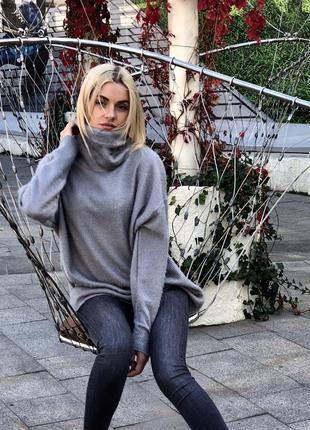 Трендовый бестселлер осени-свитер туника оверсайз из ангоры. все размеры! разные цвета