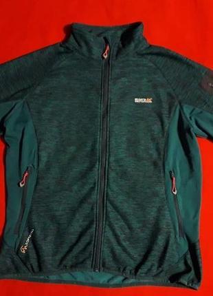 Кофта куртка softshell от regatta на флисе