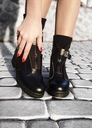 Кожаные ботинки twenty two