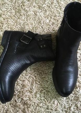 Ботинки челси натур. кожа