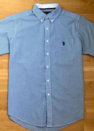 Мужская рубашка поло polo футболка тениска с коротким рукавом