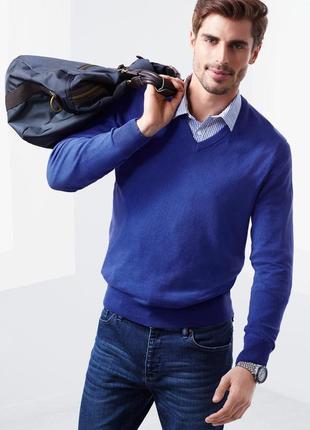 Трикотажный хлопковый пуловер.тсм чибо.германия.