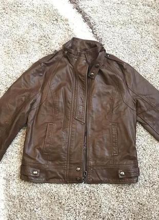 Куртка кожаная кожа косуха