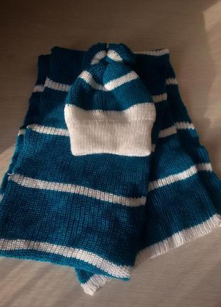 Набор шапка , шарф