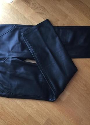 Италия reteo mariello брюки штаны леггинсы кожа