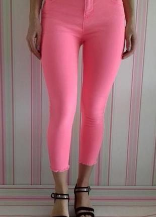 Укороченные джинсы скинни бренда mark& spеncеr