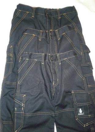 Новые джинсы, брюки mascot на мальчика. два размера.