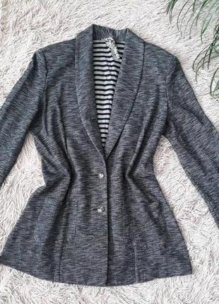 Стильный трикотажный пиджак / жакет / кардиган фирмы next