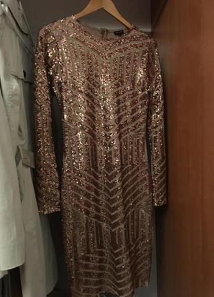 Новое нарядное платье river island