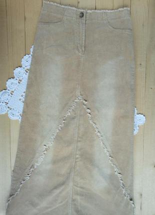 Тренд этой осени-вельветовая юбка