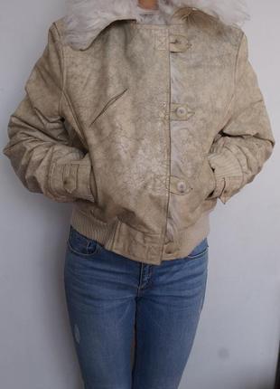 Стильная косуха дубленка куртка morgan