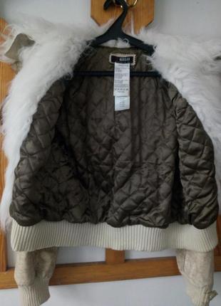 Стильная косуха дубленка куртка morgan4 фото