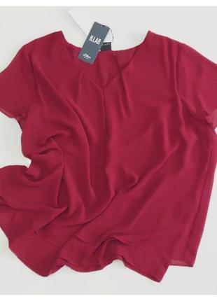 S. oliver двухслойная блуза на