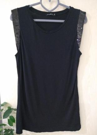 Блуза atlantik, футболка с пайетками
