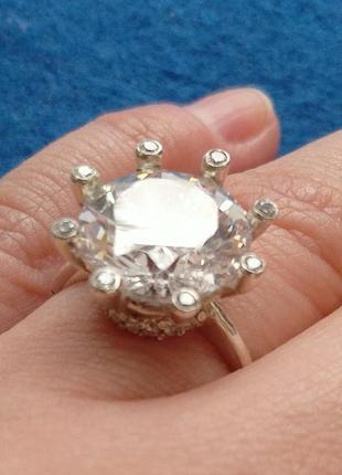 Эксклюзивное серебрянное кольцо