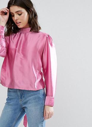 Ліквідація товару до 10 грудня 2018 !!! блузка  с разрезом на спине asos petite