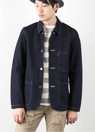 Оригинальный стильный пиджак levis engineer's coat м размер