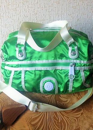Спортивна сумка kipling бельгійський бренд, 23см*31см*16см