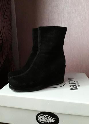 Продам качественные зимние ботинки kelton италия