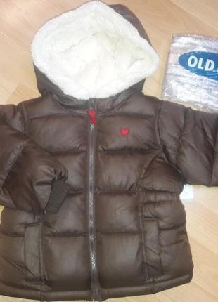 Зимная куртка old navy америка 2-3года