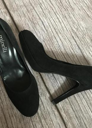 Натуральные туфельки minelli в идеале 36р