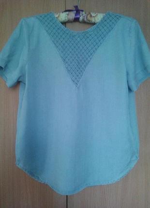 Блуза джинсовая р.s-m