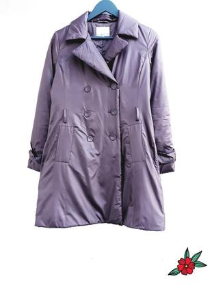 Теплая куртка красивая куртка длинная куртка пальто на тонком синтепоне