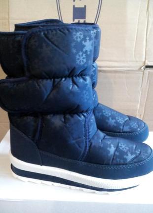 Теплі зручні зимові дутики чоботи