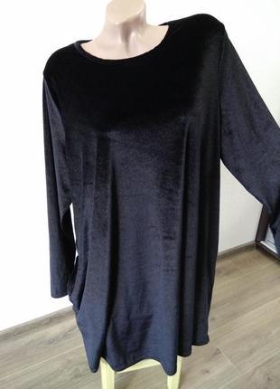 Красивое платье платице под бархат велюр размер 202