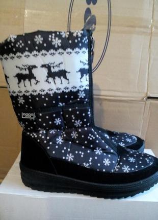 Дуже теплі та зручні зимові чоботи дутики