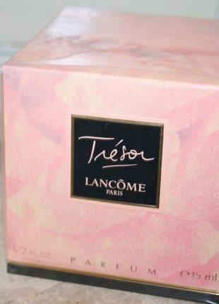 Lancome tresor 15мл духи винтаж оригинал франция