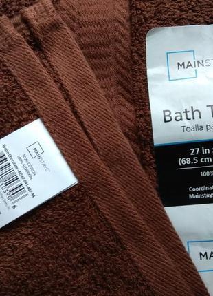 Новое фабричное американское полотенце, размер 68,5/132, цена ща 1 шт.