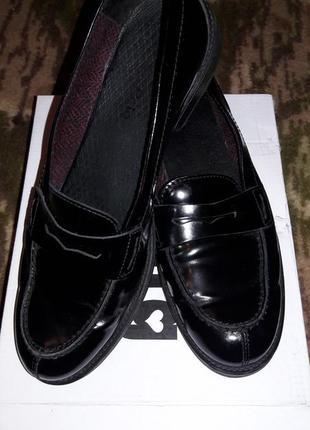 Стильные туфли лоферы унисекс mark o polo