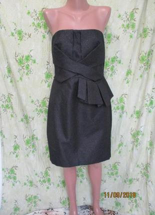Брендовое коктейльное платье футляр от dorothy perkins новое