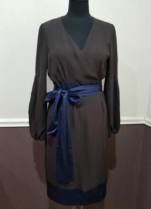Стильное шелковое платье marc aurel