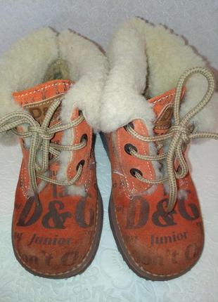 Ботиночки dolce & gabbana