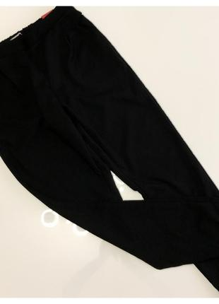 Q.s чёрные легкие брючки на резинке