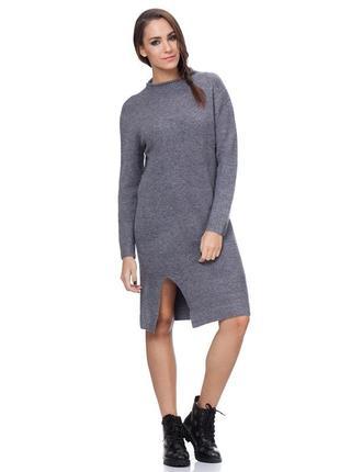Платье tantra, тёплое платье, вязаное платье